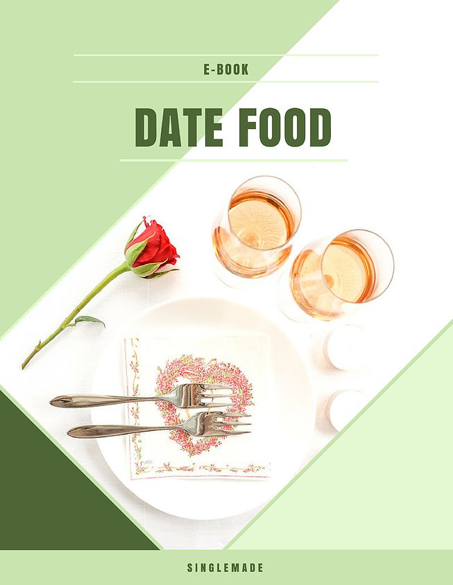 Singlemade | 1-voudige recepten | Ebook Date Food
