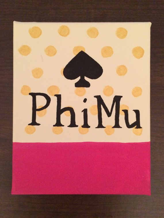 Kate Spade Inspired Sorority Canvas by SouthernCharmStaples