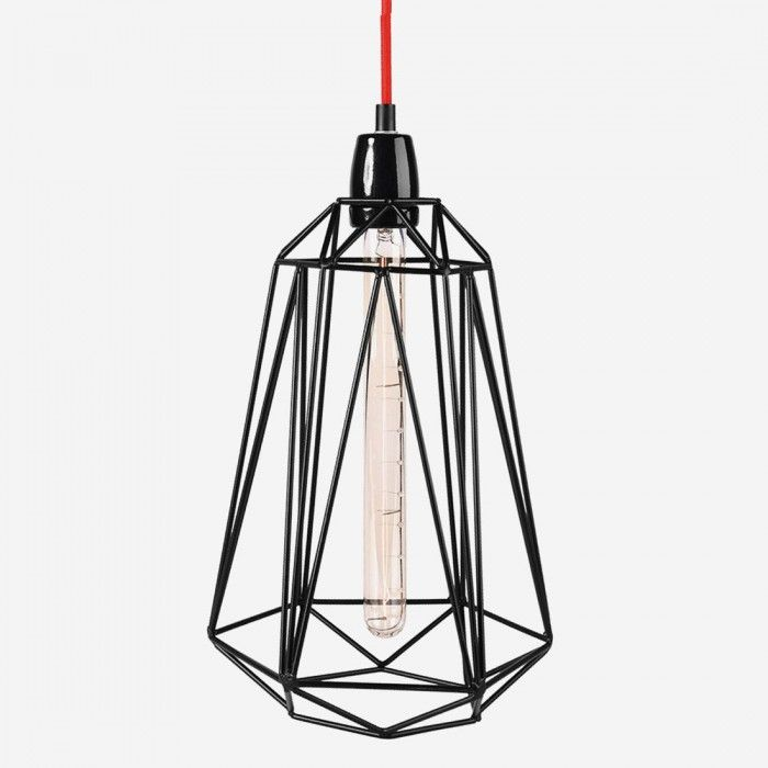 A filament bulb is something worth placing on display which is why luxembourg based label filamentstyle has created the diamond cage lamp series to keep