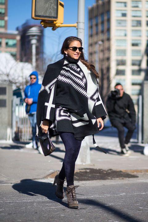 Laure Dubreuil - уличная мода осень/зима 2015-2016