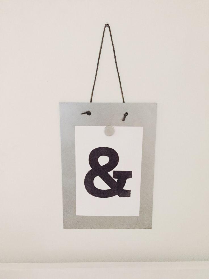 Simplicity design - Magnettavla med grafiskt motiv