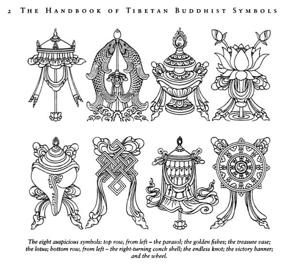 Zen Buddhist Symbols And Meanings: 98 Best The Eight Auspicious Symbols Images On Pinterest
