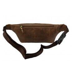 Smart bombag / bæltetaske fra Treats i brun kalveskind