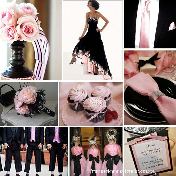 17 best *Black, Pink - Wedding Motif images on Pinterest | Pink ...