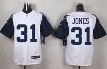 Dallas Cowboys #31 Byron Jones White NFL Elite Rush
