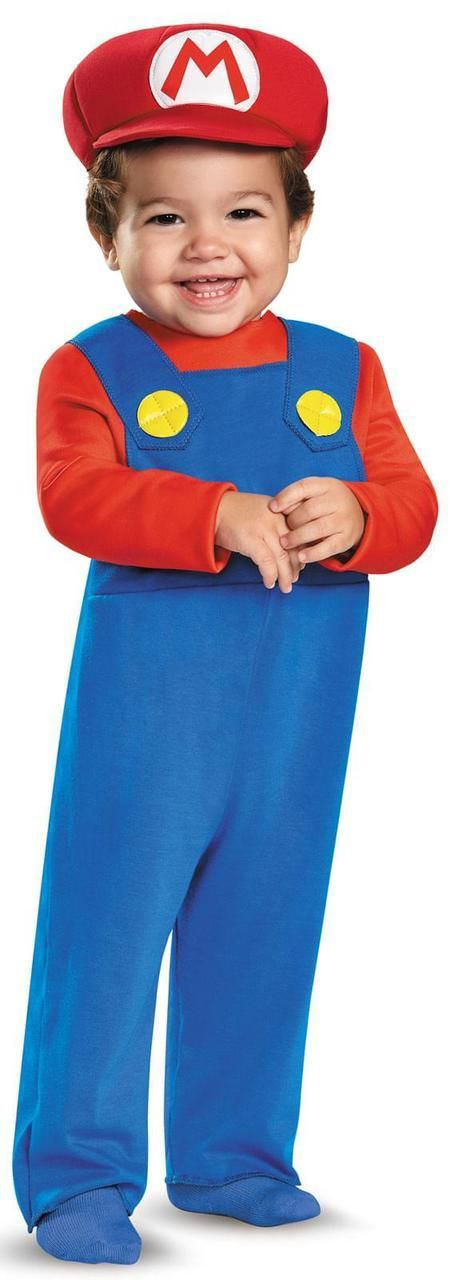 Super Mario Bros: Mario Toddler Costume - ThePartyWorks