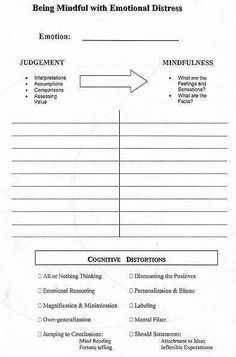Printables Dbt Worksheets 1000 images about dialatical behavioral therapy dbt on pinterest mindfulness exercises and therapy