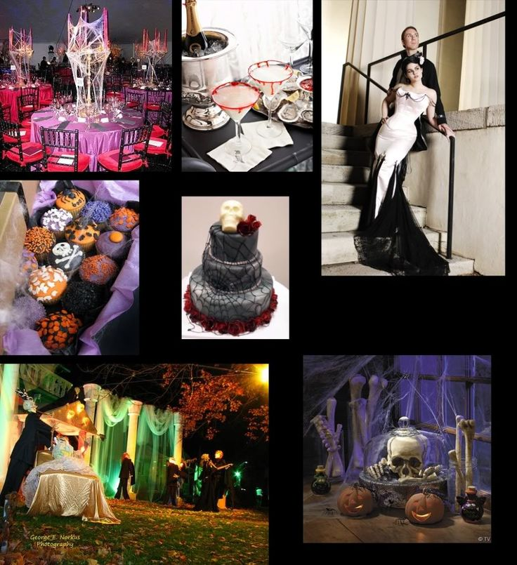 Halloween Themed Weddings | Black And Orange Halloween Wedding Ideas.  Halloween Party Inspiration . Part 19