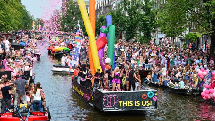 Amsterdam Gay Pride is a Festival at the center of Amsterdam during the first weekend of August every year. This Festival is very famous and several hundred-thousands visitors comes from all over the word. Amsterdam pride was first organized in 1996, meant as a festival to celebrate freedom and diversity. There are a lot of events in this Festival but the peak of the festival is during the Canal Parade.