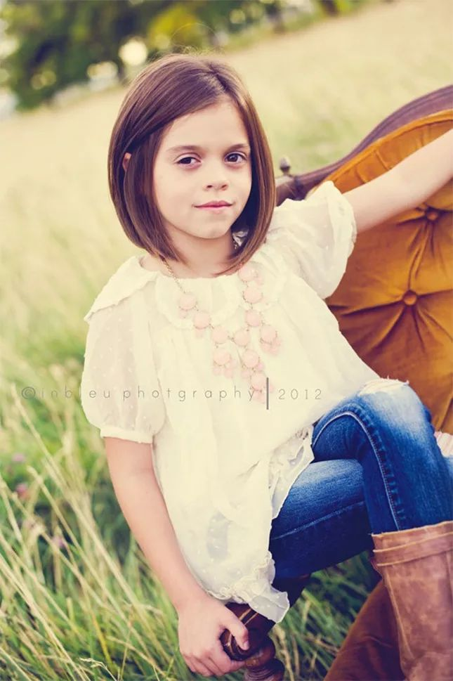 Magnificent 1000 Ideas About Kids Bob Haircut On Pinterest Girl Haircuts Hairstyles For Women Draintrainus