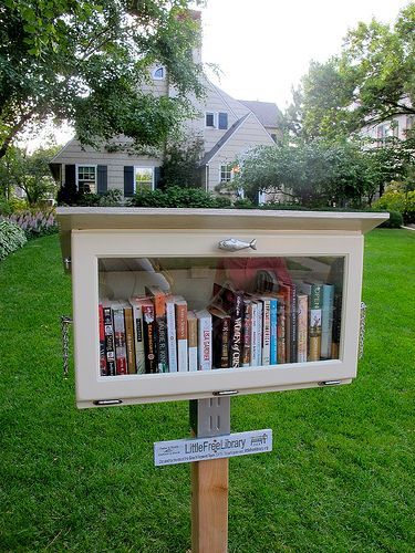 classic little free library