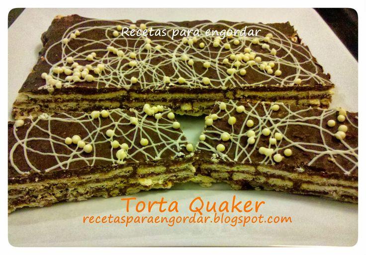 Recetas para engordar...: Torta Quaker