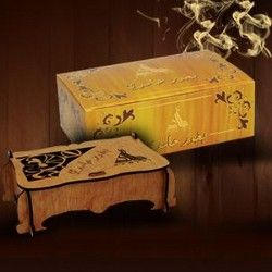 BAKHOOR HAMIDI(LIGHT) - ARABIC PERFUMED INSENSE  This is an arabic perfumed insense which notes are spicy, woody and musk extra fragrance with a touch of labdanum mixed with a combination of Agarwood and Sandal powder