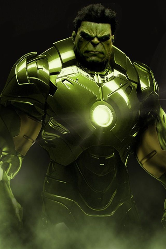 Superhero Suit Ideas: If Hulk Had An Iron-Man Suit.... The Possibilities Are