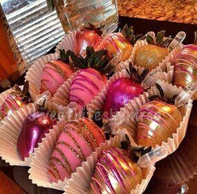 Fresas decoradas!!!