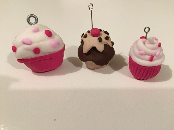 Cupcake in fimo
