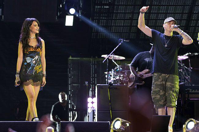 Billboard - Eminem & Rihanna's Monster Tour Roars to Life at Rose Bowl: Concert Review