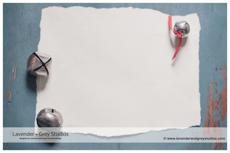 Styled Stock Photograph | Holiday Vintage | Jingle bells with torn paper by LavenderAndGrey on Etsy