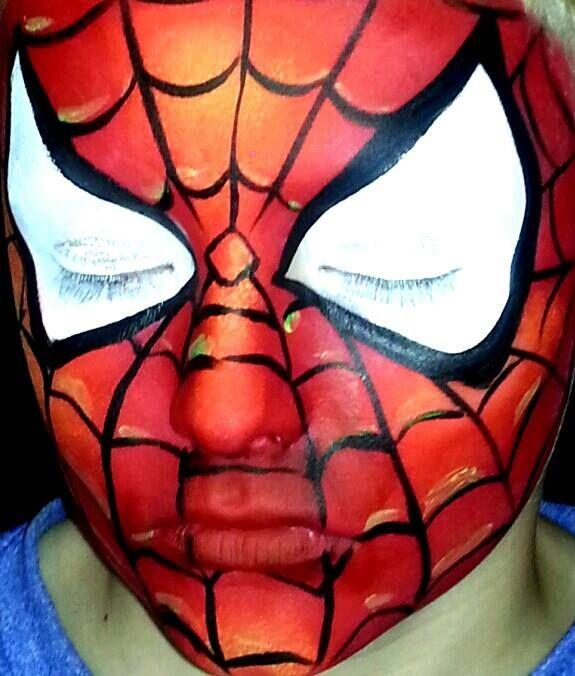 60 best face painting superheroes images on pinterest. Black Bedroom Furniture Sets. Home Design Ideas