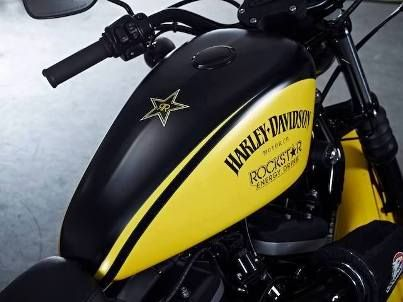 Rockstar Energy Drink US Iron 883 | I Love Harley Bikes