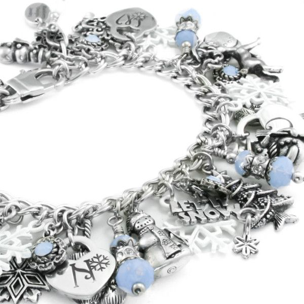 In my charm bracelet store you will find a large selection of silver charm bracelets, Silver Winter Jewelry - Snowflake Jewelry- Snow Bracelet charm necklaces, drop earrings and Unitarian Church jewel