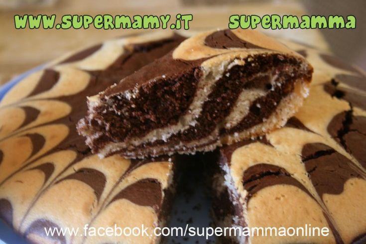 Torta zebrata bimby passo passo