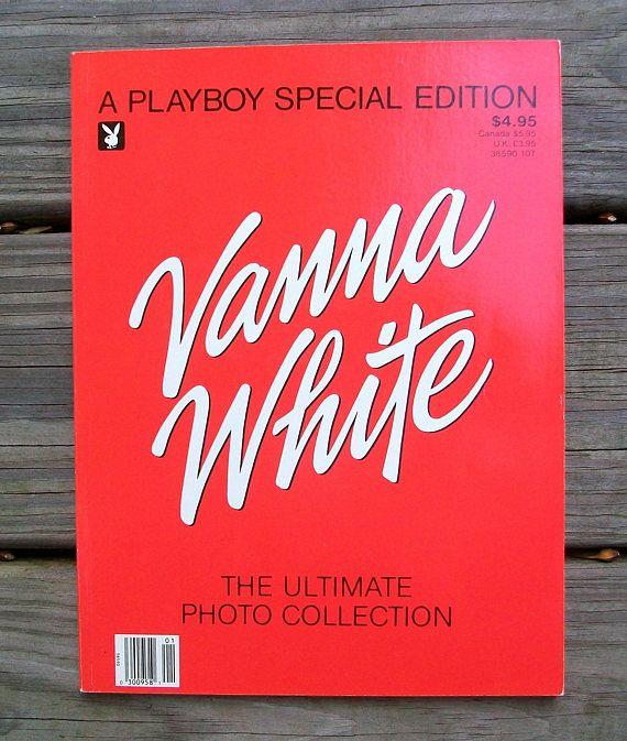 Vintage 1987 Playboy Special Edition Vanna White Magazine
