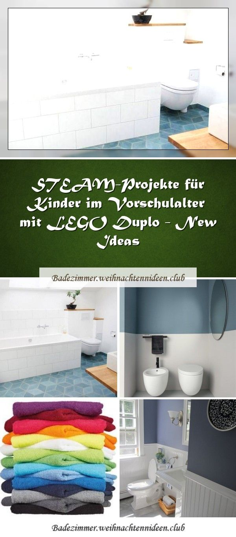 Steam Projekte Fur Kinder Im Vorschulalter Mit Lego Duplo New Ideas In 2020 Bathroom Design Vertical Design Bathroom Decor