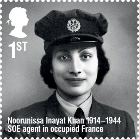 Noor Inayat Khan - Muslim Woman, WW2 Secret Agent, radio operator in occupied…