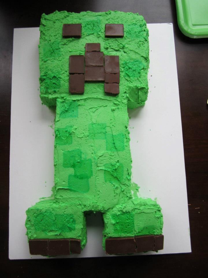 Minecraft Ice Cream Cake Skin