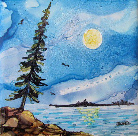 Shoreline by Jewel Buhay, used Alcohol Ink and Spectrum Noir markers to create this lovely image. Jewel is an artist from Saskatchewan, who recently joined the Alcohol Ink in Art group. https://www.facebook.com/groups/alcoholinkdreamscapes/: Art Stuff, Alcohol Art, Alcohol Inking, Art Alcohol Inks, Artistic Expressions, Ink Art Projects, Alchol Inks, Art Adore, Alcohol Ink Painting