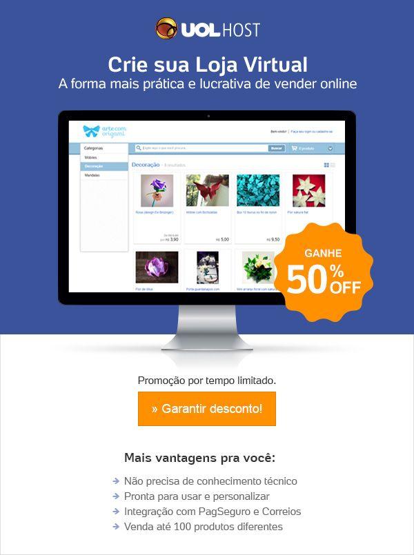 Crie Sua Loja com 50% OFF - marleneemilianos@gmail.com - Gmail