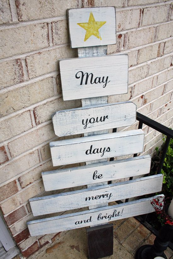 Scrap Wood Christmas Tree: Christmas Diy, Ideas, Projects, Christmas Signs, Yard, Diy Crafts, Pallets Christmas, Scrap Wood, Wood Christmas Trees