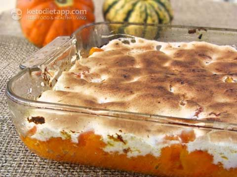 "no sugar  egg white Candied ""Yams"" low carb"