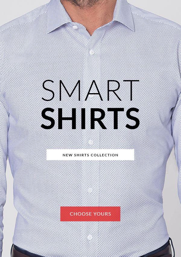 Smart Shirts Collection! http://www.tailor4less.com/en-us/men/collections/smart-shirts
