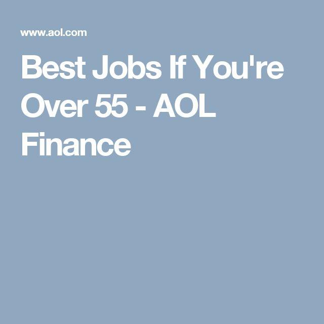 best jobs if you u0026 39 re over 55