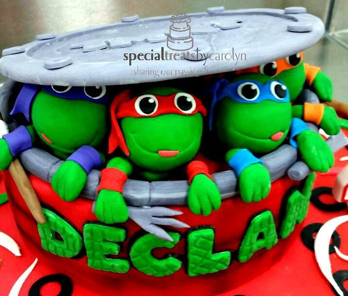 Check out these cheeky Teenage Mutant Ninja Turtle dudes. Great fun in your favourite flavour.