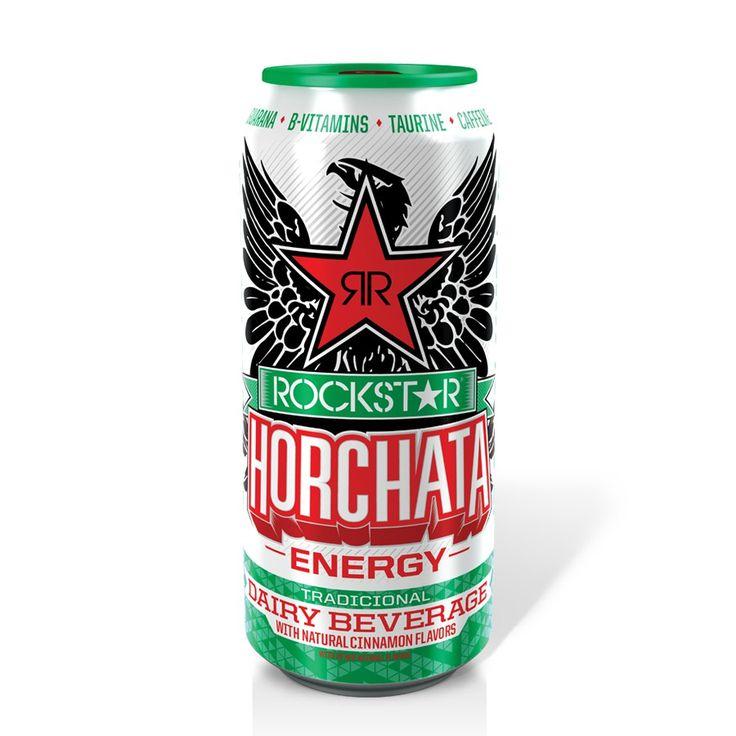 Una bebida energética sabor ¿horchata