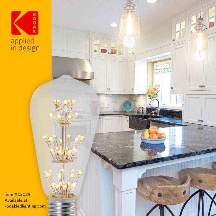 Traditional ranch kitchen with a pinch of Kodak LED Sparkle! #ledlight #modernlighting #lighting #lights #moderndesign #contemporarylighting #interiordesign #homedecor #kodak #architecture #photography #decor #lightslightslights #lightbulb #simplycooldesign #lamp #interior #designer #design #light #homedesign #diy #lights #kitchendesign #kitchengoals