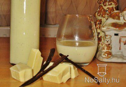 Fehér csoki likőr vaníliával