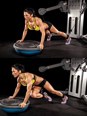 The Secret to... Ripped Abs. Muscle and Fitness Hers. Awesome Ab building workout.