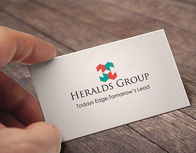 """Check out new work on my @Behance portfolio: """"Branding for Heralds group vol 2"""" http://on.be.net/1IaEbkm"""