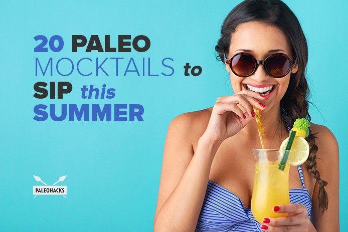 20 Paleo Mocktails to Sip this Summer