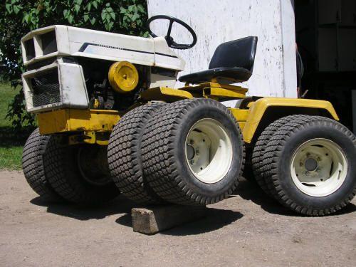 Custom Garden Tractor Wheels : Best garden tractor custom images on pinterest