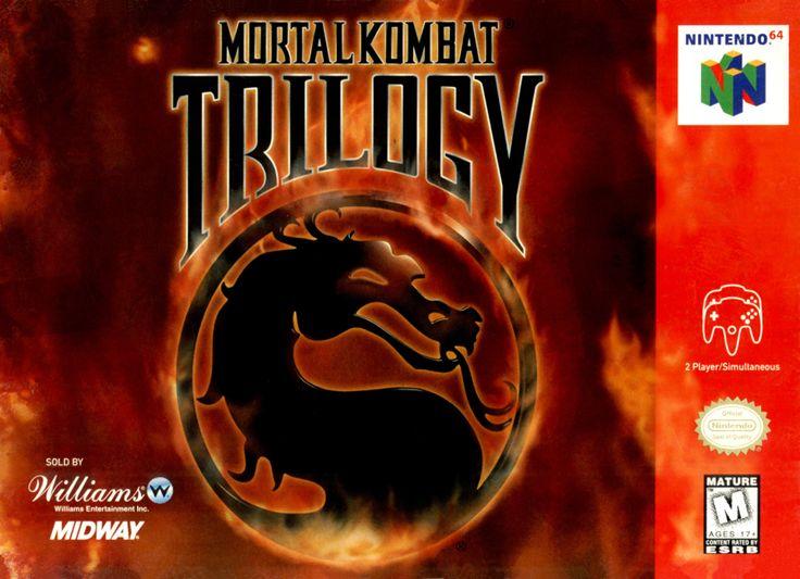 Mortal Kombat Trilogy Nintendo 64 Cover