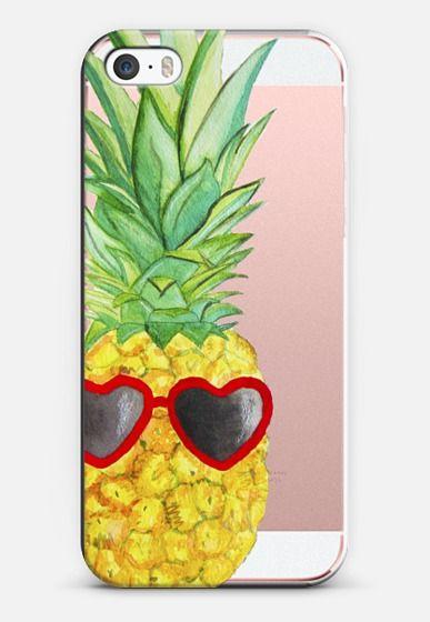 Pineapple iPhone SE case by Lauren Davis | Casetify