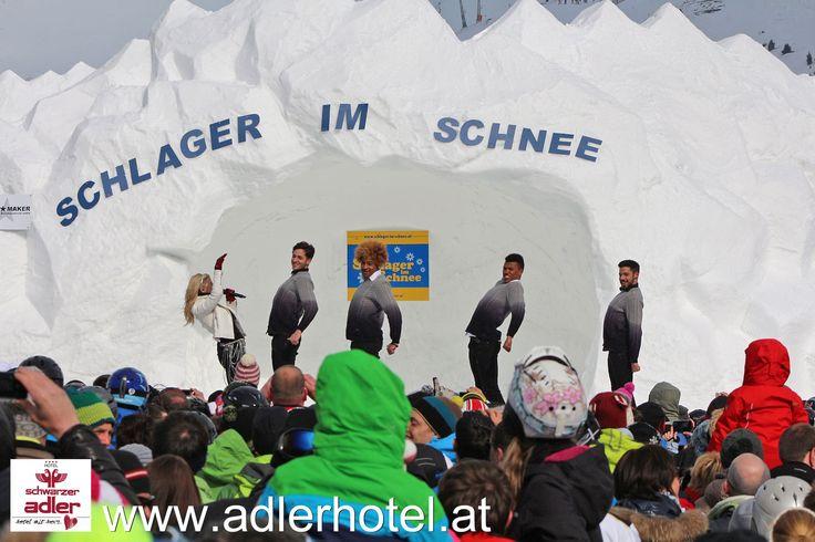 Beatrice Egli bei Schlager im Schnee in Nauders http://www.adlerhotel.at/