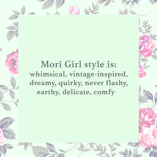 In summary… | This Mori Girl Fashion Subculture Will Be Your New Obsession