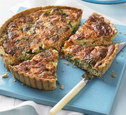 This fab cook-ahead quiche makes a brilliant casual feed-a-crowd dish