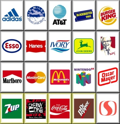 Famous logos with names list